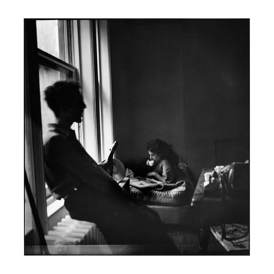 Robert and Mary Frank in New York City. 1950. Elliott Erwitt/Magnum Photos, via Robert Koch Gallery